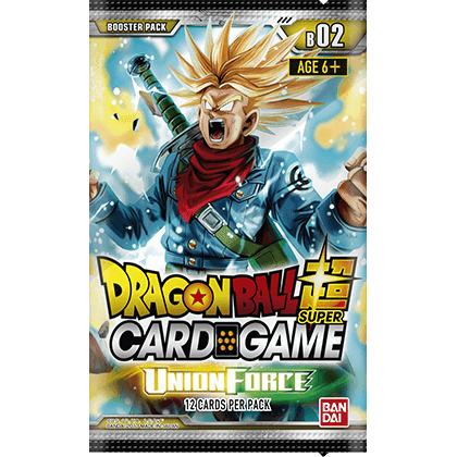 Dragon Ball Super Card Game: Union Force B02 Booster Box