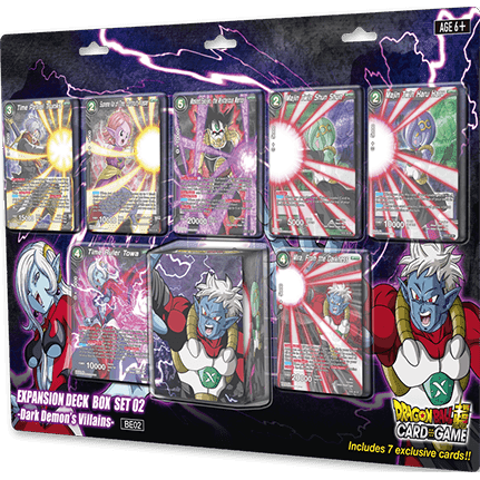 Dragon Ball Super Card Game: Expansion Deck Box Set Dark Demon's Villains BE02