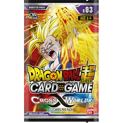 Dragon Ball Super Card Game: Cross Worlds B03 Booster