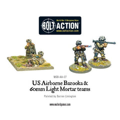 US Airborne Bazooka & Light Mortar Team