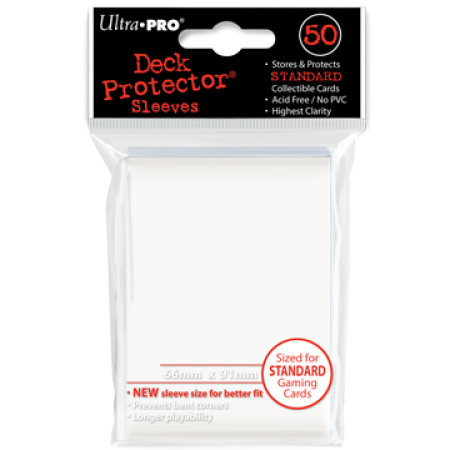 Ultra Pro Standard Sleeves Clear (50)