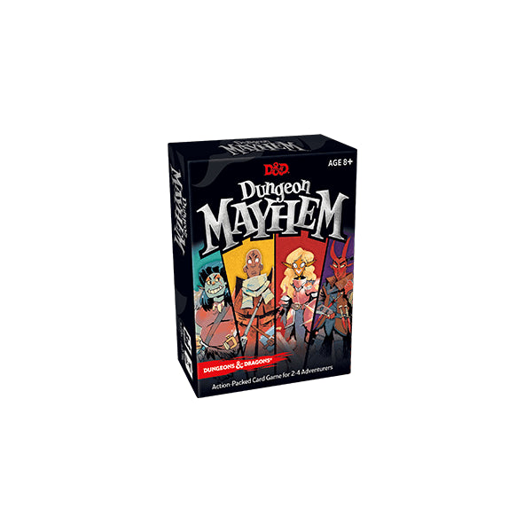 Dungeon Mayhem: D&D Card Game