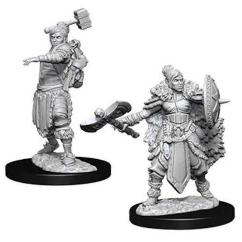 Female Half-Orc Barbarians
