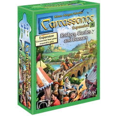 Carcassone: Bridges, Castles and Bazaars expansion 8