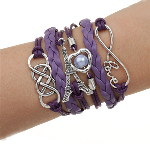 Infinite multilayer bracelet