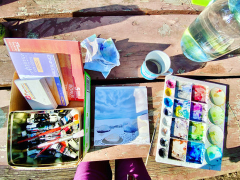 watercolor painting supplies recommendations