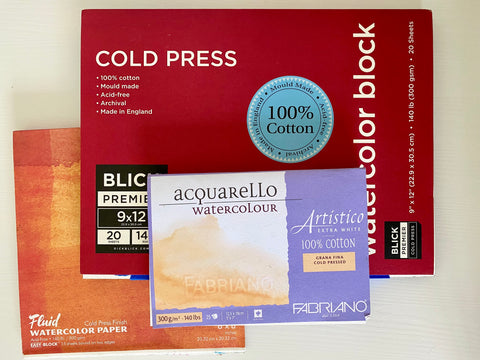 best watercolor paper recommendations painting art supplies