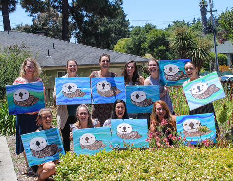 Santa Cruz Painting Parties