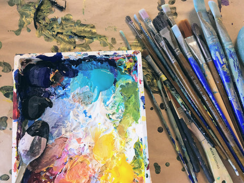 art supply recommendations acrylic watercolor painting