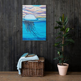 Portuguese Man O War Canvas Print