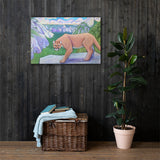 Trail Buddy Canvas Print