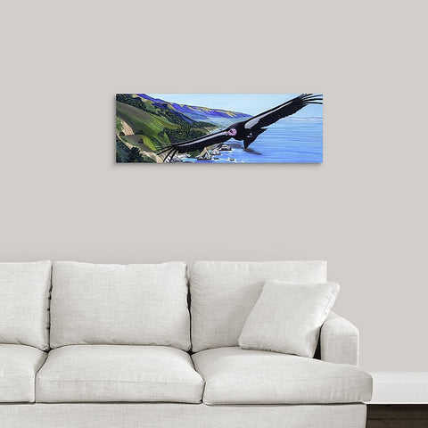 Flight of the Condor Canvas Print