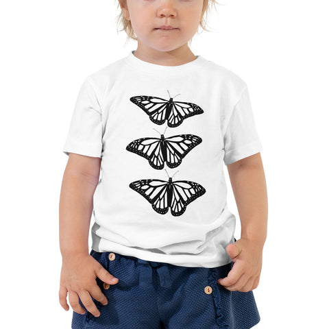 monarch butterfly kids tshirt