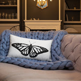 Monarch Butterfly Pillow