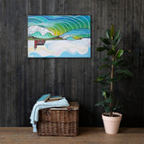 Steamer Lane Canvas Print