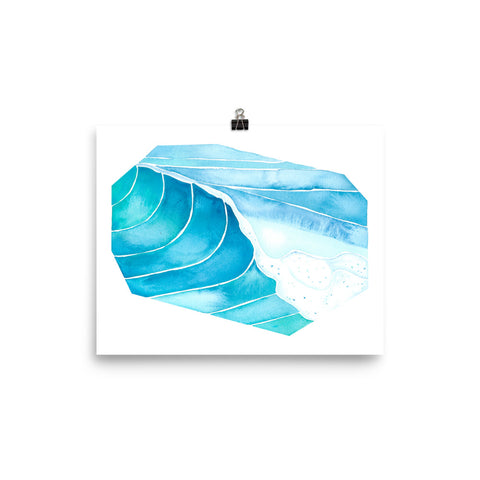 watercolor surf art, anastasiya bachmanova