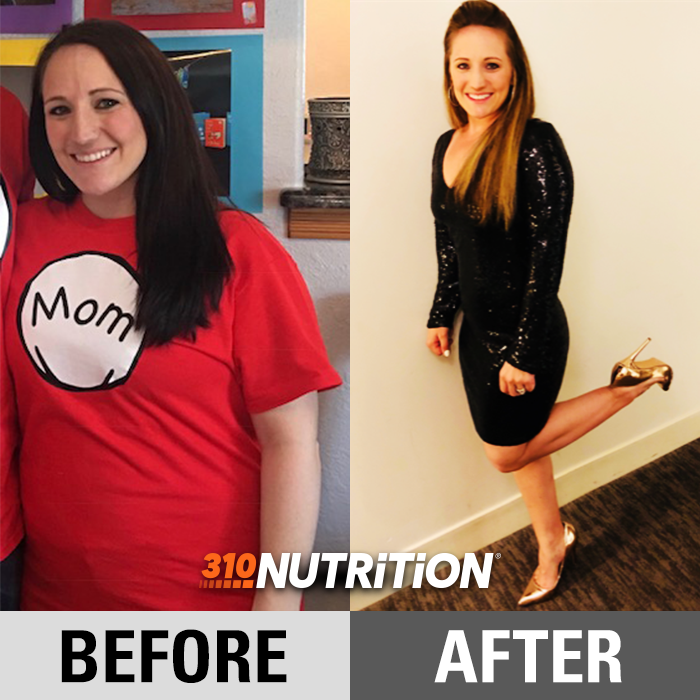 Victoria S Success Story Weight Loss Results 310 Nutrition