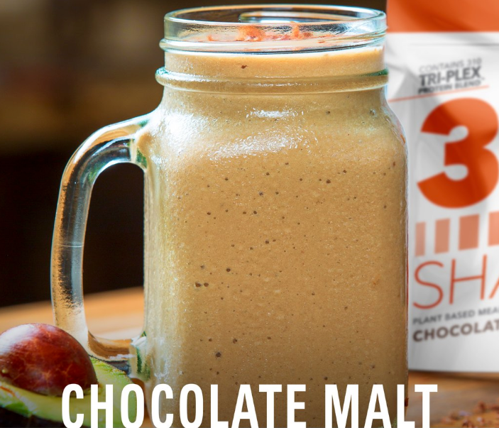 Chocolate Malt Meal Replacement Shake Recipe 310 Nutrition