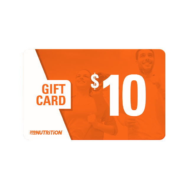 310 Nutrition - $10 Gift Card