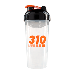 310 Clear Shaker Cup with Black Top