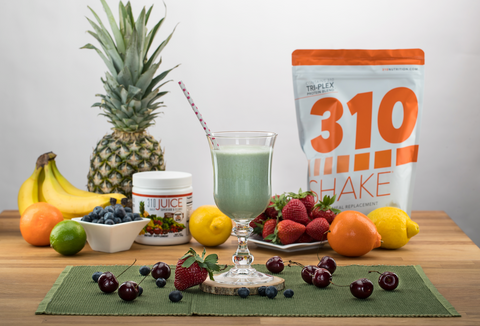 310 Nutrition Shakes contain optimal fiber and are low in carbs.