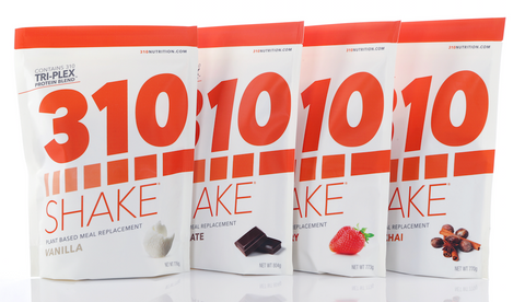 310 Shakes are low-calorie meal replacement shakes, with only 90 calories per shake serving.