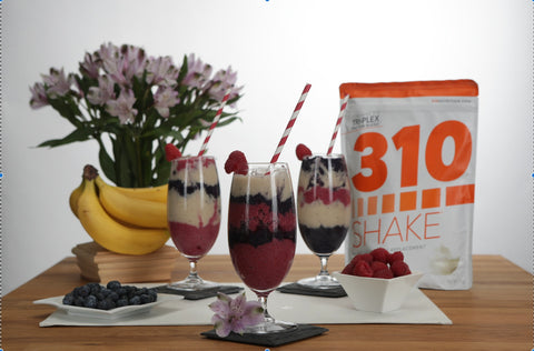 310 meal replacement shakes contain 5g of dietary fiber, for digestion and satiety.