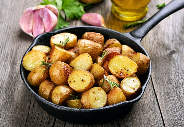 potatoes aren't particuarly keto friendly