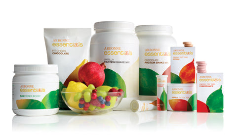 Arbonne Essentials Shakes come in Vanilla or Chocolate.