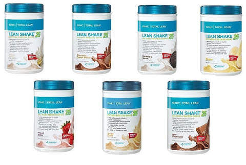 GNC lean shake contains artificial sweeteners which may negatively impact your waistline.