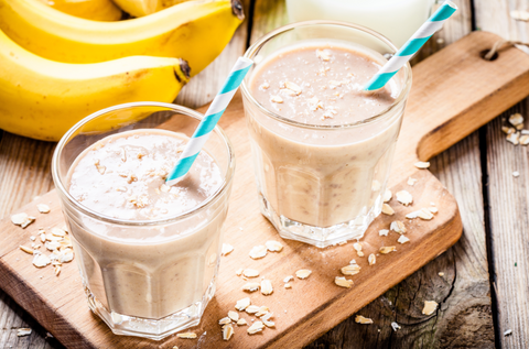 banana nut muffin shake