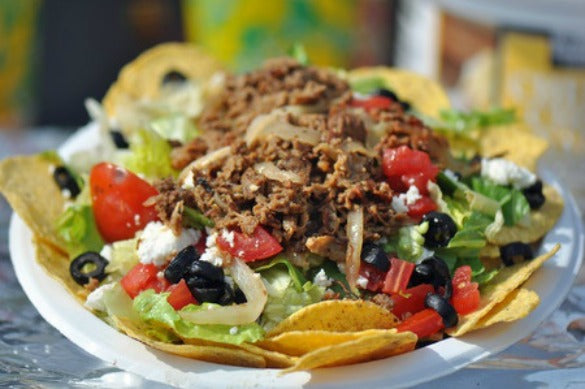 Loaded Taco or Nacho Salad