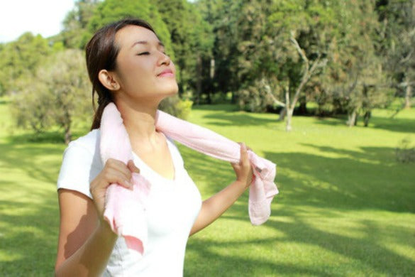 Breathing Easy After Workout