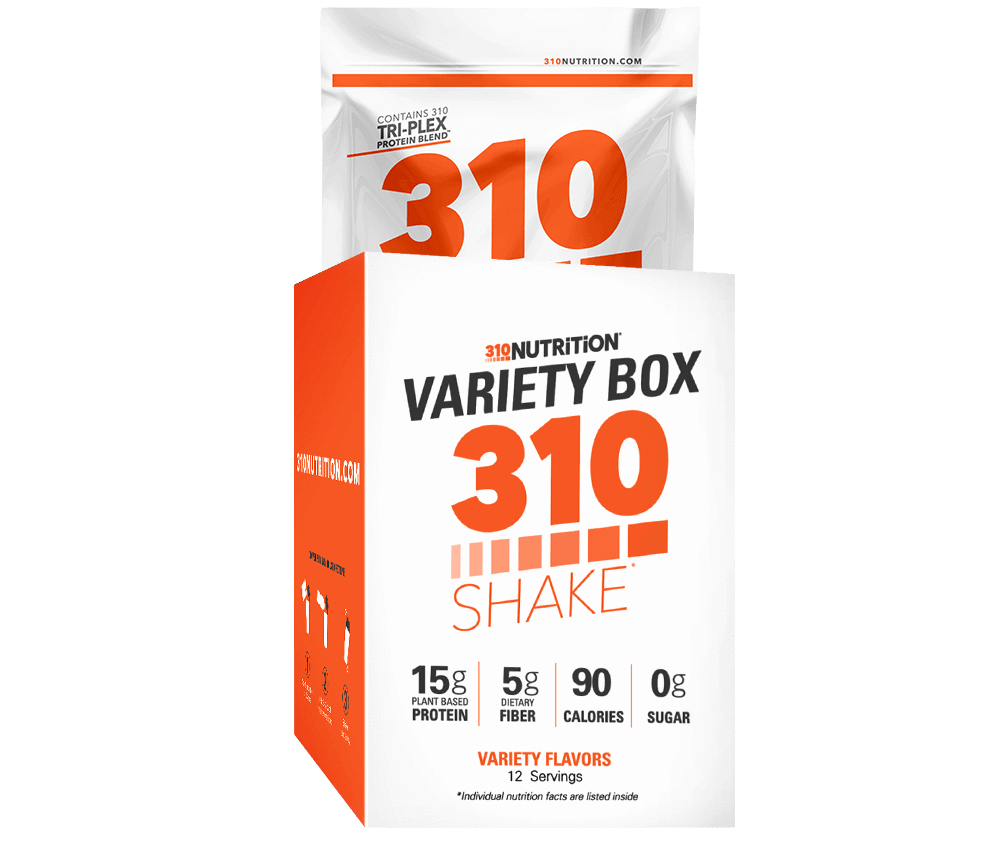 310 Nutrition - Shake Variety Box with (All Flavors)