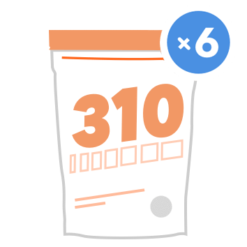 310 Nutrition - 6 Amazing Flavors