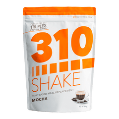 310 Shake Mocha - healthy meal replacement protein powder front view