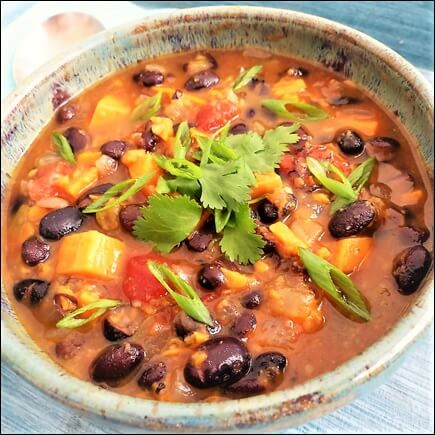 Sweet Potato Black-Bean Chili