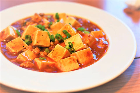 Spicy Garlic Chili Tofu