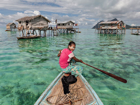 Image of The Sama-Bajau Tribe from NatGeo