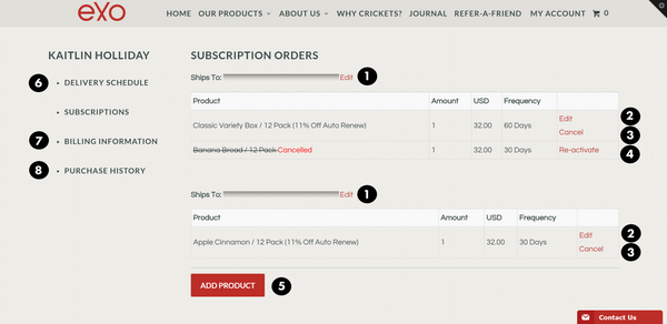 Subscription screenshot 2