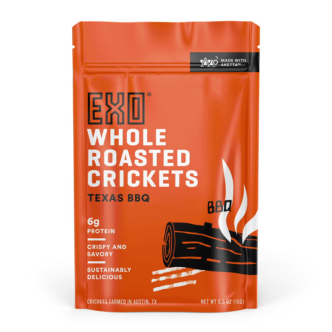 Texas BBQ Roasted Crickets - Texas BBQ Roasted Crickets