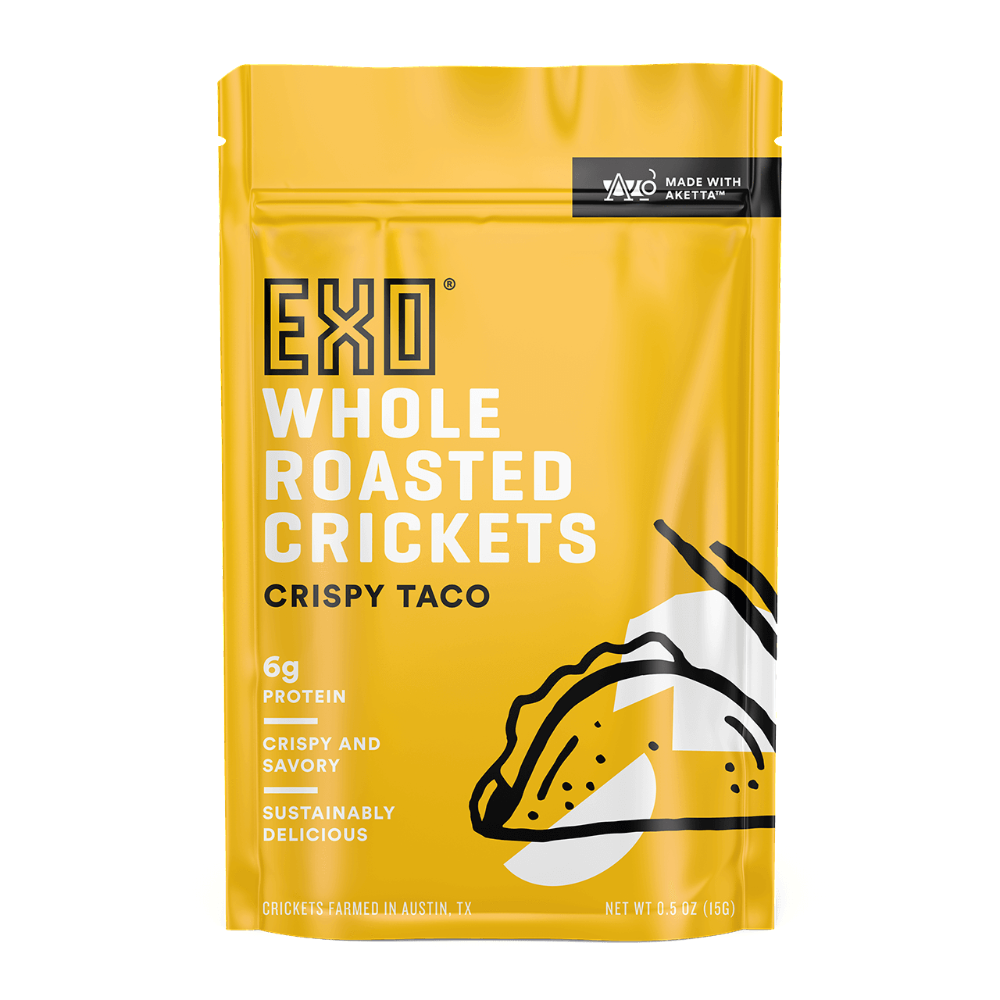 Crispy Taco Roasted Crickets - Crispy Taco Roasted Crickets
