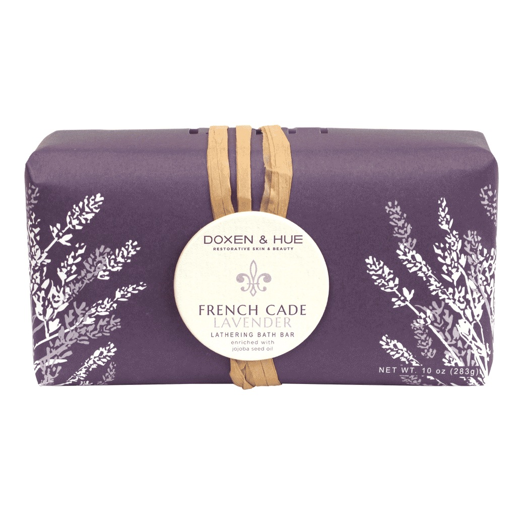 Doxen & Hue French Cade Lavender Lathering Bath Bar