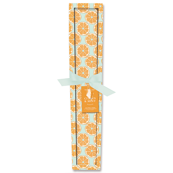 Doxen & Hue Scented Drawer Liner, Citrus & Mint