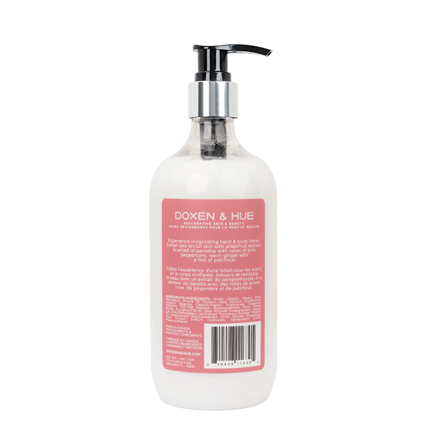 Doxen & Hue Pink Pepperpod Hand & Body Lotion