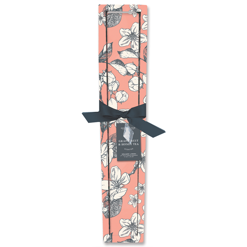 Doxen & Hue Scented Drawer Liner, Grapefruit & Honey Tea