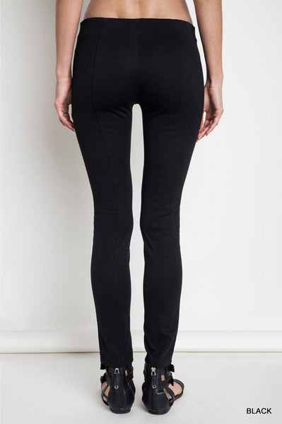 Leather like Leggings - Leggings - The Sassy South Boutique