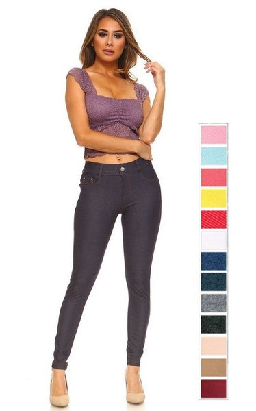 Sassy Color Jegging (Sizes: S-M-L)