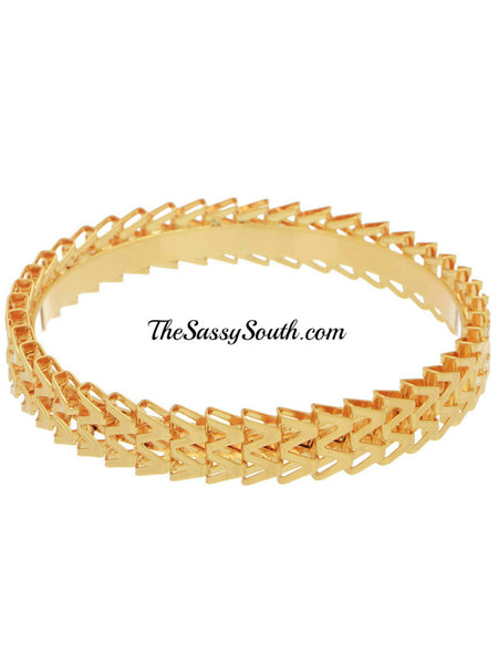 Gold Bracelet Bangle - Jewelry - The Sassy South Boutique
