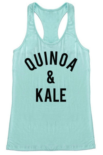 QUINOA & KALE - Graphic Top - The Sassy South Boutique